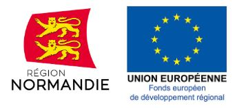 logo normandie union europeenne